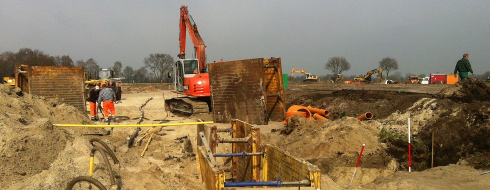 Schmutzwasserkanalverlegung Holler-Neuenwege